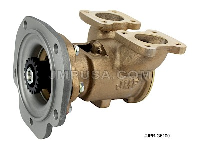 #JPR-G6100 JMP Marine Detroit Diesel Replacement Engine Cooling Seawater Pump