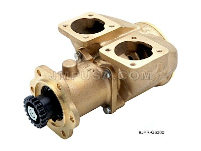 #JPR-G6300 JMP Marine Detroit Diesel Replacement Engine Cooling Seawater Pump