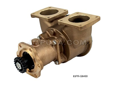#JPR-G6400 JMP Marine Detroit Diesel Replacement Engine Cooling Seawater Pump