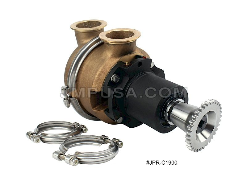#JPR-C1900 JMP Marine Cummins Replacement Engine Cooling Seawater Pump