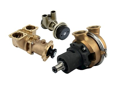 Caterpillar Engine Cooling Pumps