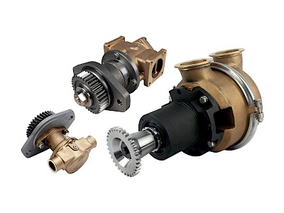 Cummins Engine Cooling Pumps