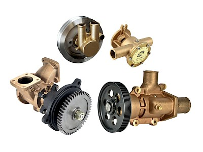 Volvo Penta Engine Cooling Pumps