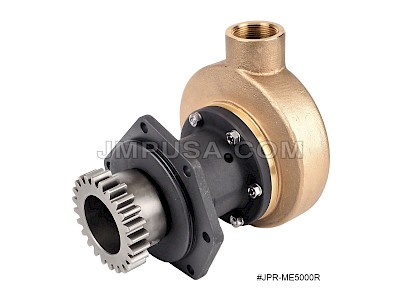 #JPR-ME5000R JMP Marine Mitsubishi Replacement Engine Cooling Seawater Pump with S6R, S6R2 Drive Gear