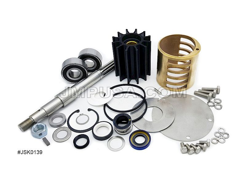 #JSK0139 JMP Marine Caterpillar C18 Engine Cooling Seawater Pump Major Service Kit